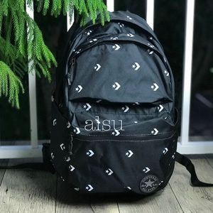 NWT Poly Chuck Plus Backpack B/W logo Unisex AUTHE